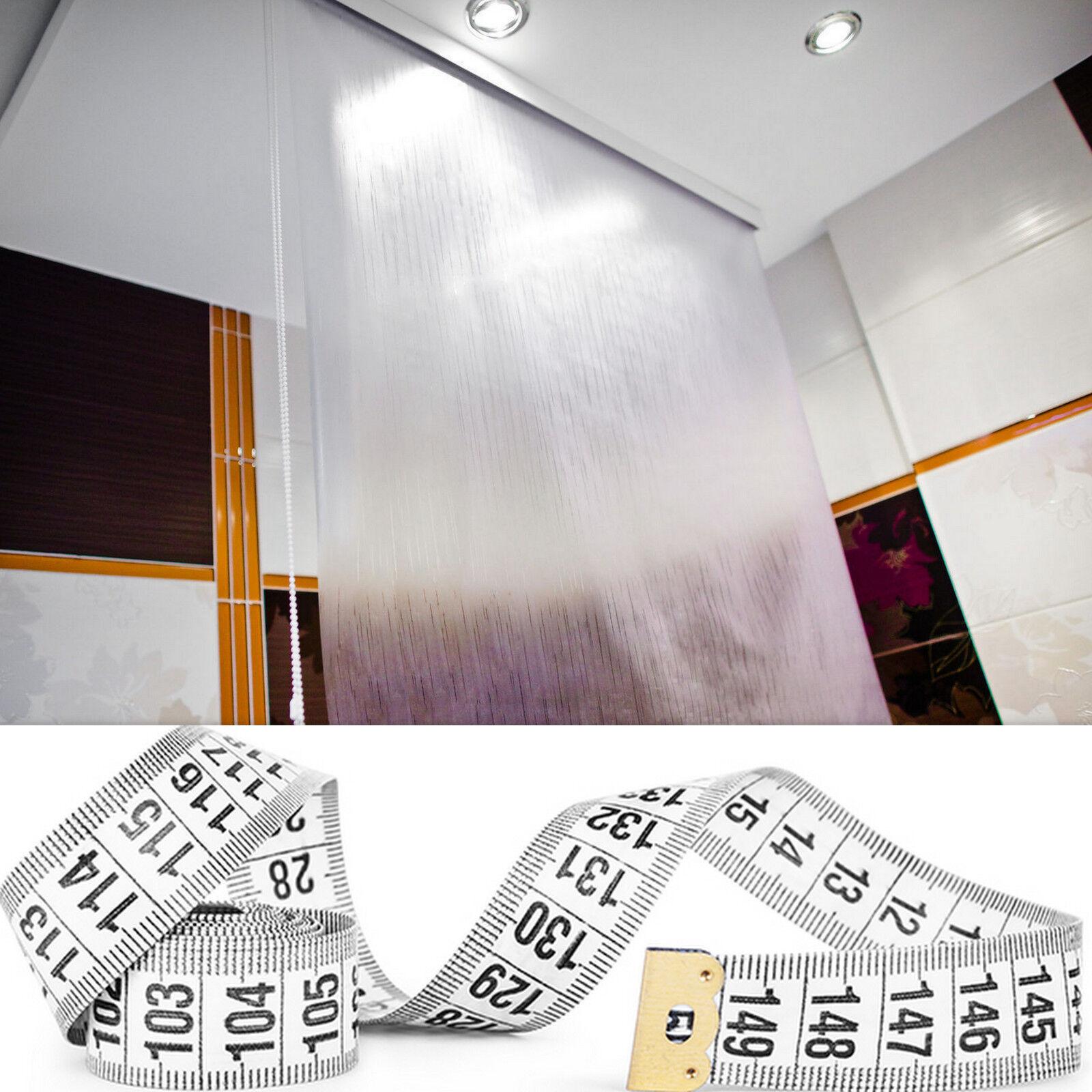 Taillé sur mesure halb-kassetten Store de douche RIDEAU largeur longueur désir