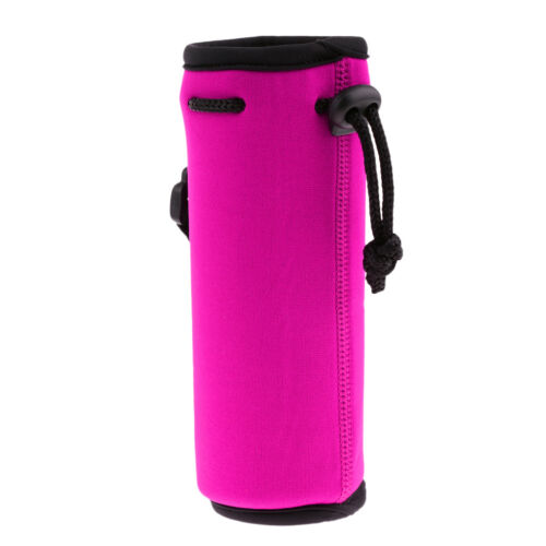 Durable Sports Water Bottle Insulator Bag Pouch Holder Sleeve Carrier Bag