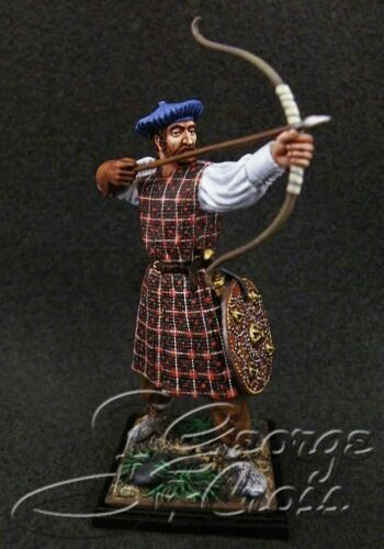 ELITE PAINTED Rise of the Jacobites Metal Figure 1//32 St George Cross
