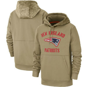 New-England-Patriots-Football-Hoodie-Salute-to-Service-Sideline-Pullover-Top