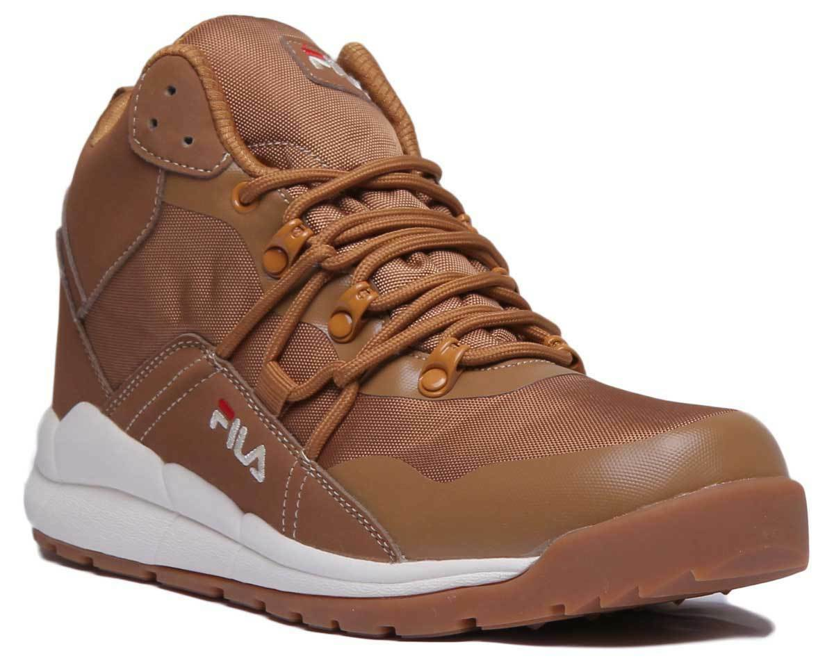 Fila Delta 2 Mid Men Synthetic Tan Ankle Boots UK Size 6 - 12