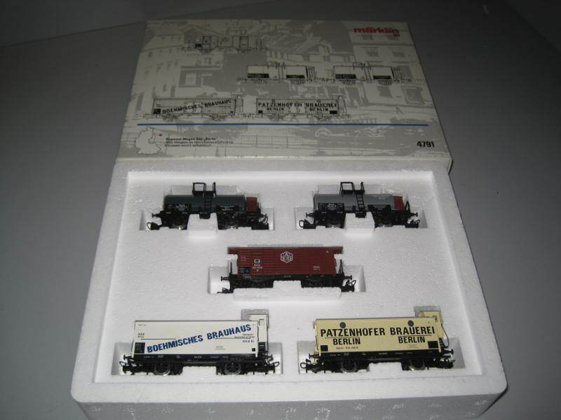 marklin HO 4791 Deutsches autorello regionale-Set  Berlino  somo NUOVO MARKLIN