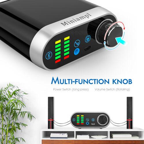 Mini Bluetooth 5.0 Leistungsverstärker USB Stereo Audio Power Amplifier 100W