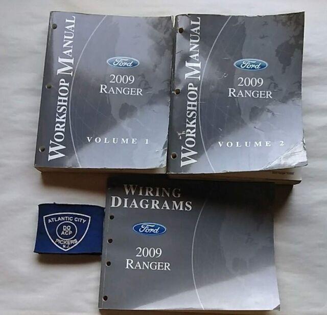 2009 Ford Ranger Service Shop Repair Manual  U0026 Wiring
