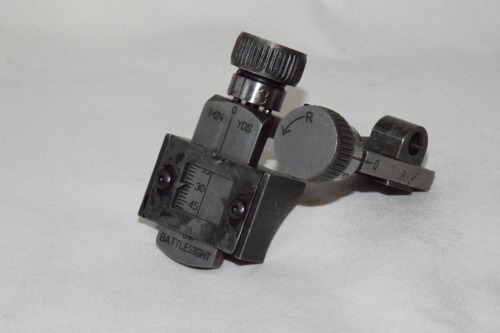 Nuevo Dw battlesight Ronda receptor Peep Sight Perno rifle de acción de la izquierda de montaje