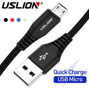 USLION-3A-Micro-USB-Fast-Charging-Data-Sync-Cable-for-Android-Samsung-Huawei-LG