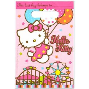 Hello Kitty Balloon Dreams Loot Treat Favor Bags 8 Count Birthday ... 77628c596fc12