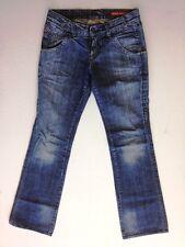 Miss Sixty Style Vargo Jeans Hose Dunkelblau Stonewashed W28 L32