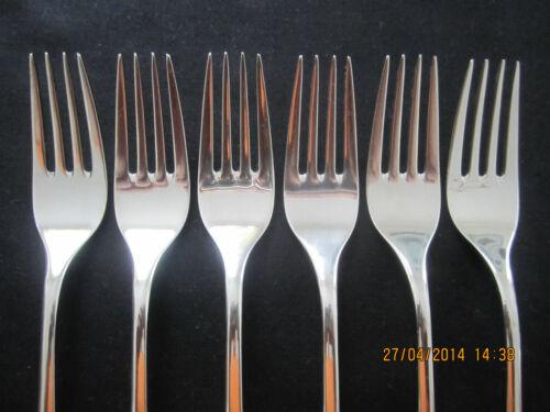 Wmf Mittenwald 6 le plat de résistance 19,4 cm Cromargan 6 pièces note 2 Fourche Fork top