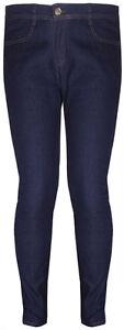Womens-Skinny-Leg-Ladies-Pocket-Stretch-Straight-Denim-Fit-Blue-Jeans-Plus-Size