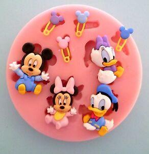 la imagen se est cargando bebe disney caracteres molde de silicona para tarta - Bebe Disney
