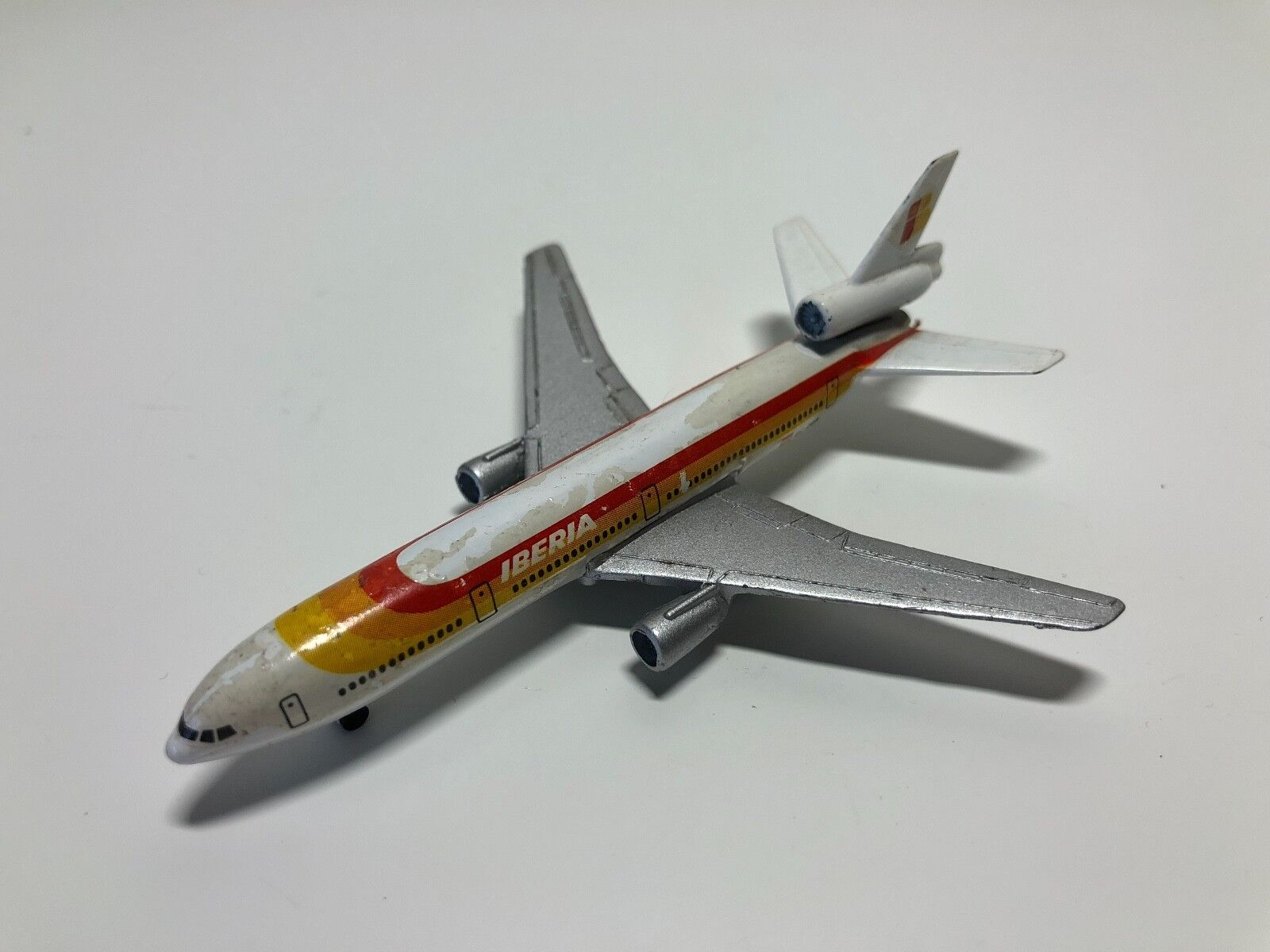 Gebraucht - Miniatur Flugzeug Iberia - Douglas DC10 - Schabak - airplane