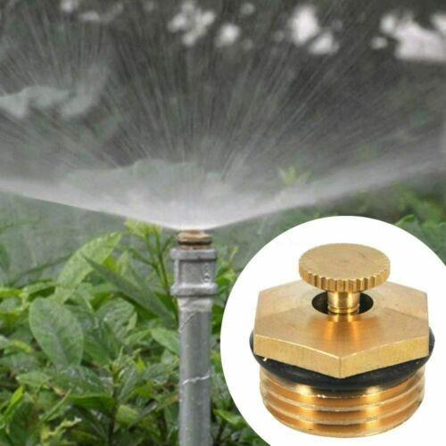 Laiton pulvérisation buse de pulvérisation jardin Arroseur réglable tête de l/'eau connecteur