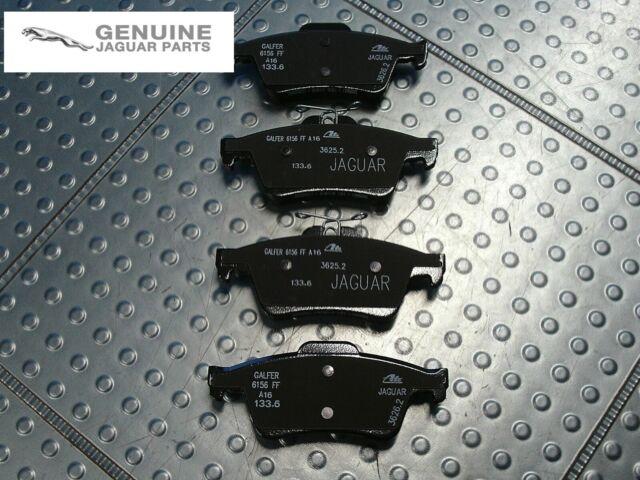 XK XF C2p17595 Brand New Genuine Jaguar Rear Brake Pads XJ