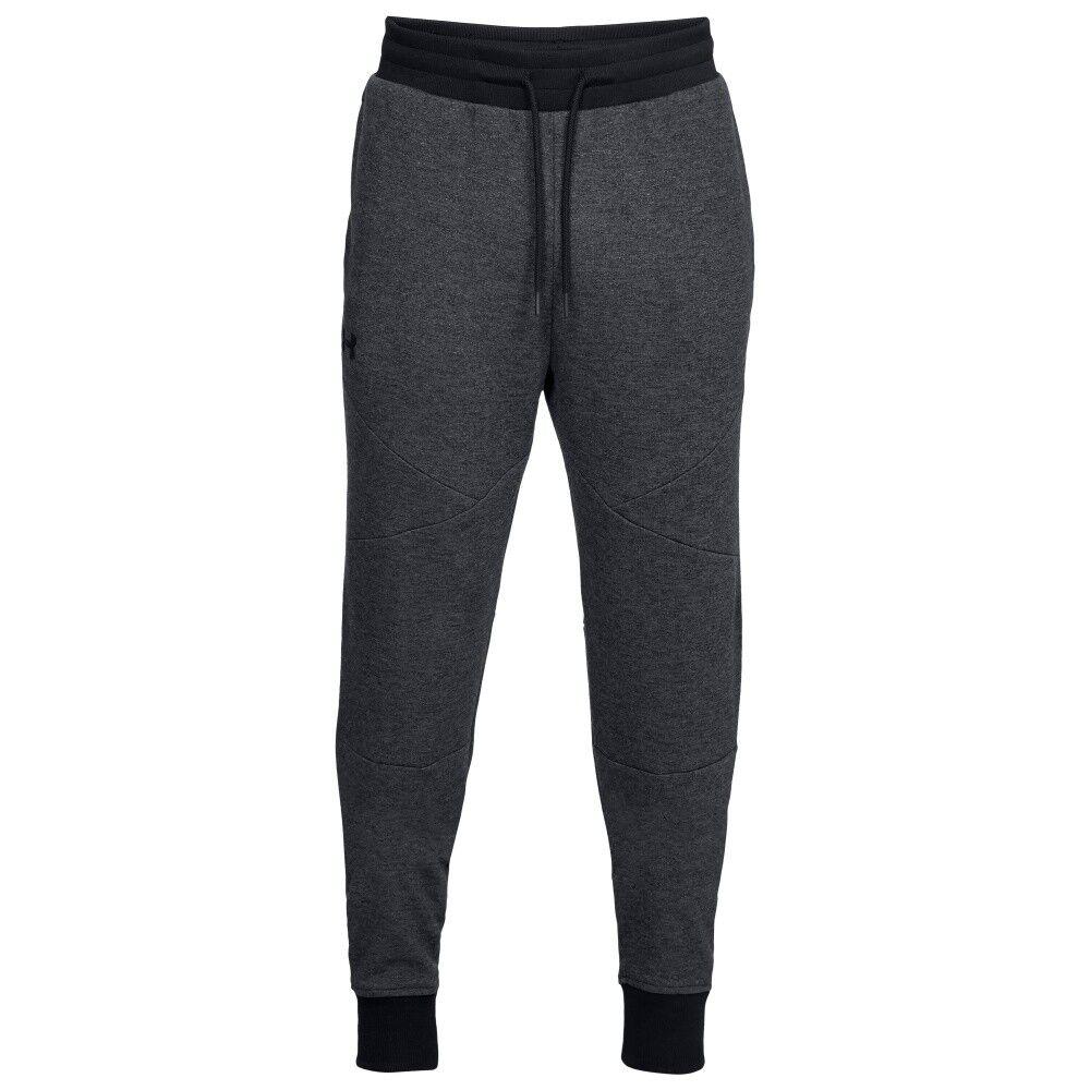 Under Armour Pantaloni Jogging Unstoppable 2x Knit Nero