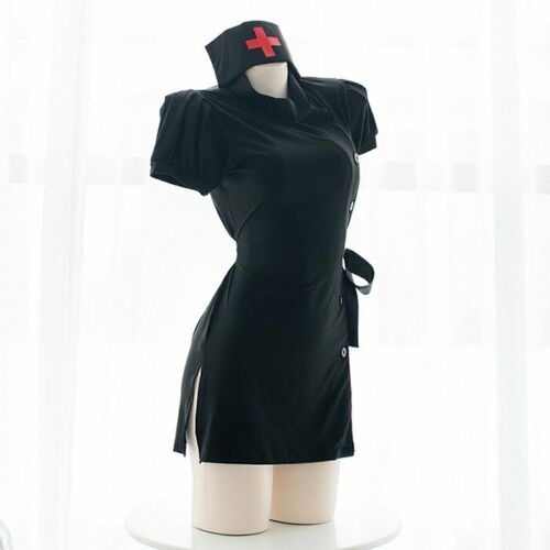 Adult Uniform Dress Women Nurse Doctor Costume Cosplay Outfit Lingerie Party New