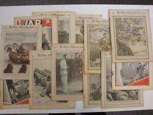 War-Illustrated-Sample-Bundle-3-Random-Issues-Original-WW2-Newspaper-1939-46
