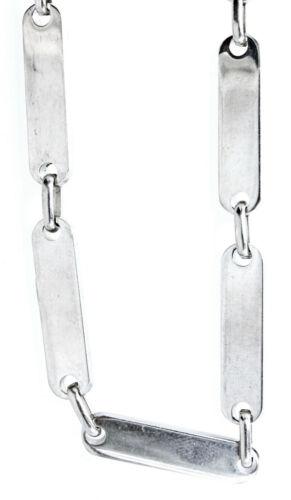 54 cm lang Kette Halskette Nr Gliederkette aus Edelstahl ca 10
