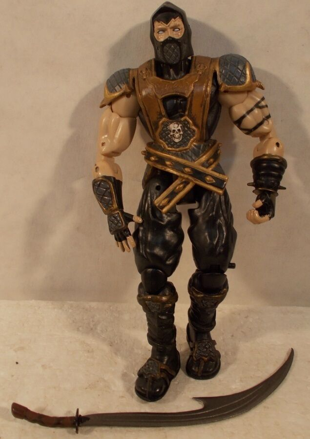 Mortal Kombat By Jazwares Series 1 1 1 Deception Scorpion (Loose Replacement Sword) a5616c