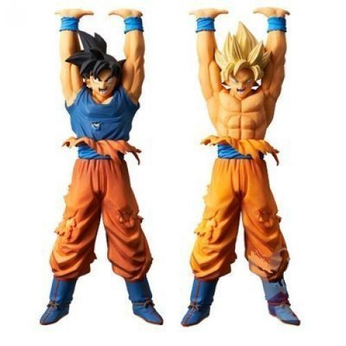 NEW Dragon Ball Genki Ball Special Figure 2 Set Goku Action Figure /B1 F/S
