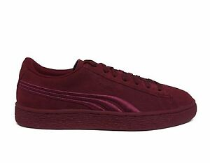 d65b1a0a5742 PUMA Junior Girls  SUEDE CLASSIC BADGE JR Shoes Cabernet 362951-06 b ...