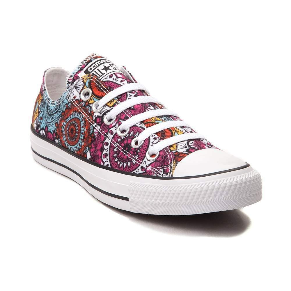 NEW Converse Chuck Taylor All Star Lo Mandala Sneaker Multi Color Chaussures
