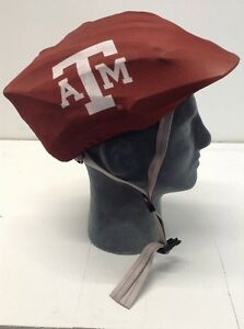 Texas A&M AGGIES Helmet Cover Bicycle Skate Moto Helmet Skin Hat Cover.