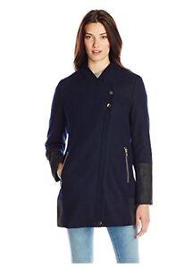 en Manteau Edelman Sam femmes S pour taille laine bouclée 85 Zoey bordure avec atFq5qw1x