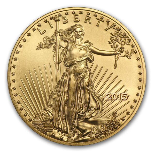SPECIAL PRICE! 2015 1 oz Gold American Eagle Brilliant Uncirculated - SKU #87117
