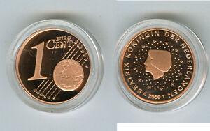 Niederlande  1 Cent  PP/Proof  (Wählen Sie zwischen den Jahrgängen: 1999-2019)