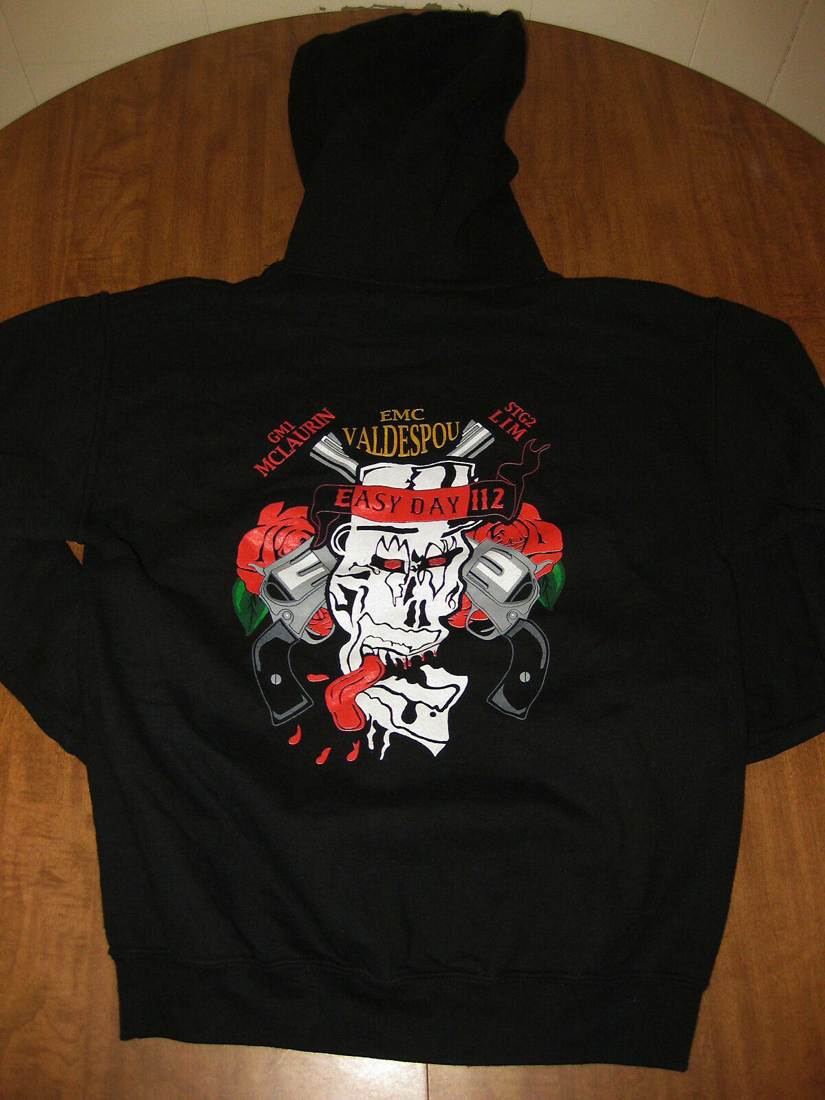 US NAVY small hoodie Gunner's Mate First Class hooded sweatshirt EMC
