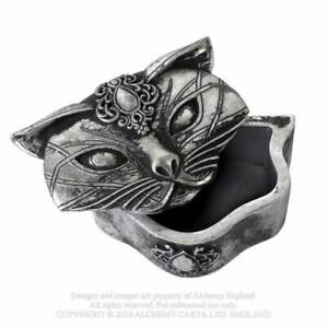 Alchemy-Sacred-Cat-Trinket-Box-Antique-Gothic-Jewellery-Box-Wicca-Witch-Mystic