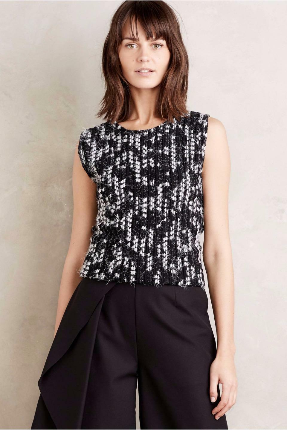 NIP Anthropologie  Arroyo Shell by Dolan Left Coast, M, Sweater front look Shell