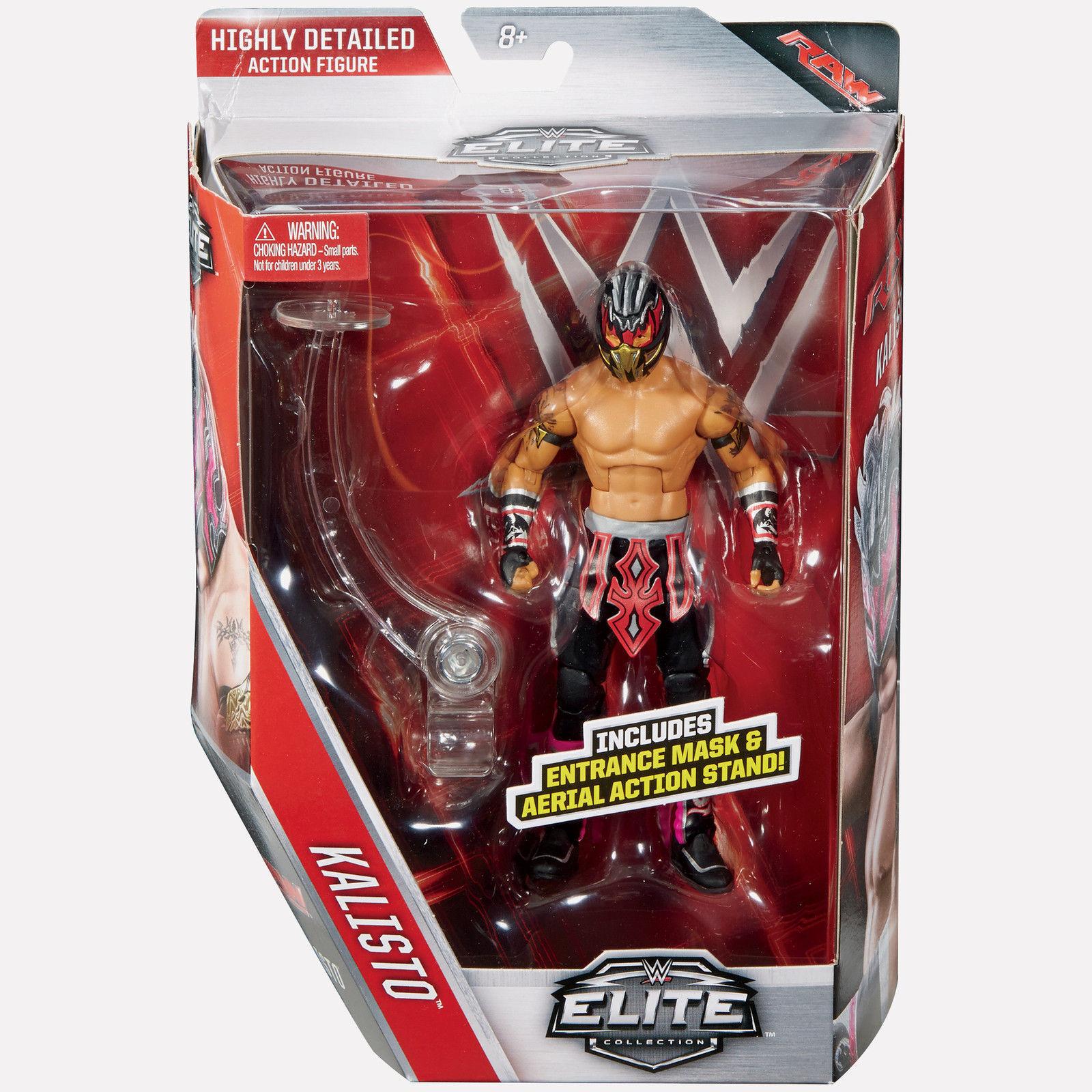 WWE ELITE SERIES 42 KALISTO WRESTLING FIGURE BRAND NEW BOXED