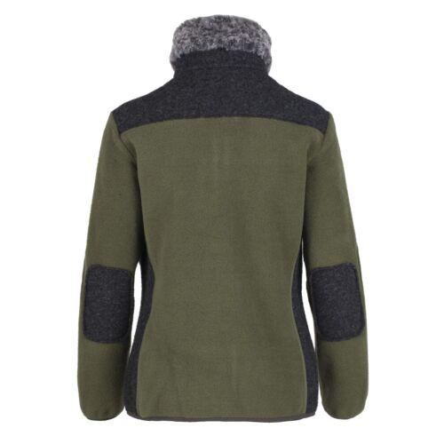 Wärmend Grün Jacket Jacke Cmp Fleecejacke Isolierend Woman Unifarben x1qvHHO