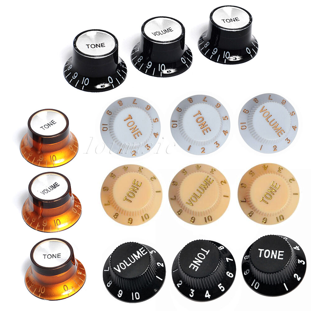 5sets different color volume tone control knob for fender strat 5sets different color volume tone control knob for fender strat guitar publicscrutiny Gallery