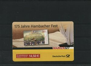 Germany-BRD-Federal-Stamp-Booklet-MH-68-Postmarked-Used-More-See-Shop