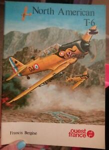 North-American-T-6-Texan-by-Bergese-ouest-france-Paperback-Book-Free-Shipping