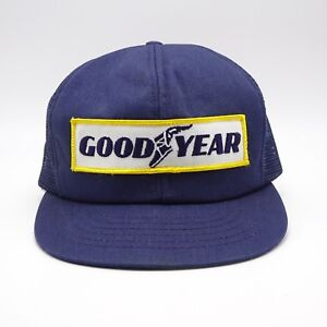 11eb17d94a7 Goodyear Trucker hat Made in USA - Front Patch - Vintage Swingster ...