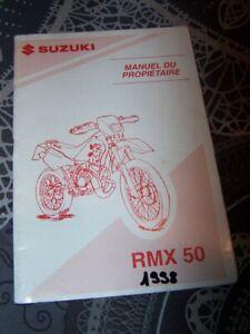 Hospitalier Q4 Manuel Guide Notice Utilisateur Owner's/user Manual Suzuki Rmx 50