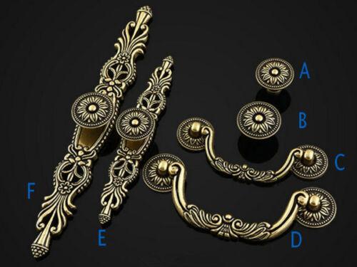 Antique Bronze Dresser Knobs Drawer Pull Handles Cabinet Door Knob Pulls Handle
