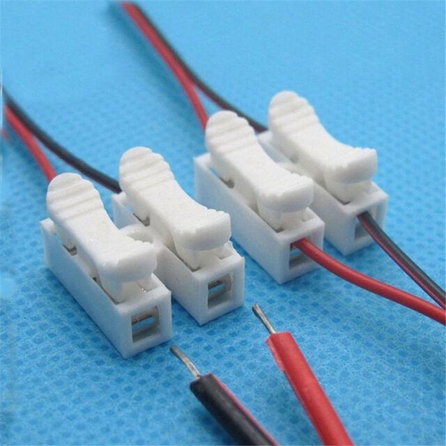 30pcs Self Locking Electrical Cable Connectors Quick Splice Lock ...