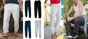 FRUIT-of-the-Loom-Pantaloni-sportivi-da-uomo-classico-Orlo-Elasticizzato-Pantaloni-Da-Jogging