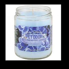 "Pet Odor Exterminator Candle: "" Blue Serenity"""