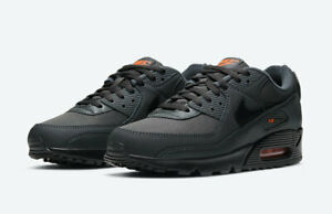 Nike-Air-Max-90-Grey-Multi-Size-US-Mens-Athletic-Running-Shoes-Sneakers