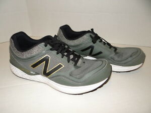 separation shoes 81cca 7856b Details about NEW BALANCE mens M520 Ankle-High mesh Running Shoe 10 D green  gray Comfort Ride