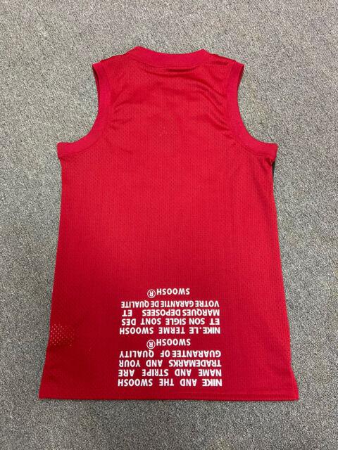 Nike Air Jordan Jumpman Classic Wings Tank top Size S Jersey Red $70 Mens New