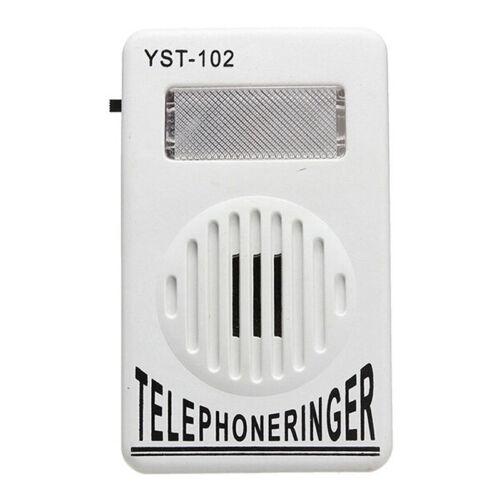 Extra-Loud Telephone Phone Bell Ringer Strobe Light Flasher Sound Amplifier KIUS