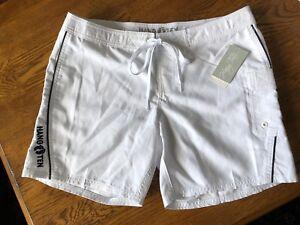 Hang-Ten-Women-039-s-Belize-Quick-Dry-Board-Shorts-Black-or-White