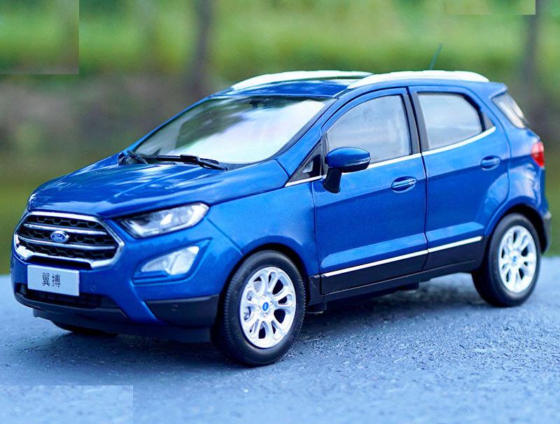 1 18 Nuevo Ford Ecosport SUV Modelo Coloree blu